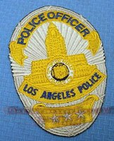 angeles clothing - Collection Los Angeles City Los Angeles LAPD embroidered badge armband
