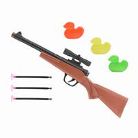 Wholesale Kids Toy Western Cowboy Pump Action Sucker Rifle Gun Fancy Dress Toy Bullet Gun Toy with Bullets