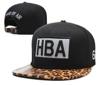 air domes - Hood By Air Snapback Hat Popular HBA Snapbacks Strapback Hip Hop Hats Flat Brim Caps Men Women Summer Sun Cap