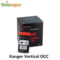 Wholesale Original Kanger Vertical OCC Coil Clapton Coil SSOCC Coil ohm ohm ohm ohm NI200 ohm for Subvod Kit