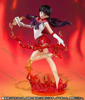 Wholesale Hot Sale New CM Anime Sailor Moon Sailor Mars Hino Rei PVC Action Figure Collectible Model Toy Sailor Moon Figure