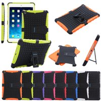 Wholesale Military Shock Proof Heavy Duty Builders Case Cover for iPad Mini with Retina Display