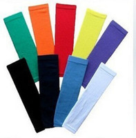 arm protection sleeves - NEW Basketball Shooting Arm Sleeve Cycling Golf Arm Bands Wind Protection SALE