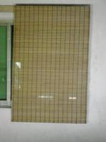 wood door - splender blind cordless bamboo roman shade