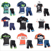 Wholesale Bicycle jackets Short Sleeve Shorts Cycling Suit Custom Summer Men And Women Style Cycling Clothes Absorbent Perspiration