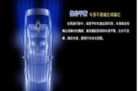 Wholesale 2016 Solar Universal Car Shark Shape Safety Flash Automobile Strobe Antenna Emergency Warning Alarm Tail Light Lamp