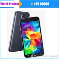 Wholesale 5 inch S5 i9600 MTK6582 Quad core M GB Android GPS G wifi Single SIM smart phone by World product