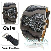 army belt buckle - Oulm Fashion Watches Army Mens Quartz Wristwatch Free Ship