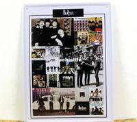 Cheap Beatles paiting Tin Sign Bar pub home Wall Decor Retro Metal Art Poster 30*40cm wholesale 50pcs hm47