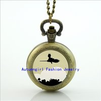 antique delivery service - Kiki s Delivery Service Pocket Watch Memory Locket Necklace Antique Pocket Watch Necklace WT