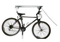 bicycle lift storage - Bike Bicycle Lift Ceiling Mounted Hoist Storage Garage Iron Bike Hanger Pulley Rack Bicycle Accessories