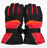 Wholesale 2014 New brand ski gloves Snowboard gloves Snowmobile Motorcycle Riding winter gloves Windproof Waterproof unisex snow gloves