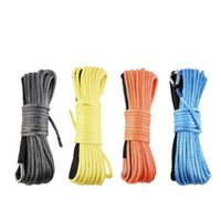 Wholesale Hot New Hot x3 quot Dyneema Synthetic Winch Rope For Vehicle Car towing winch rope
