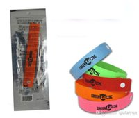 Wholesale 2015 HOT Green Luck Mosquito Repellent Band Bracelets Anti Mosquito Pure Natural Baby Wristband Hand Ring IN STOCK Y34