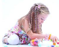 Polymer clay baby hair curlers - 2015 Hot baby headbands Hair band curler headbands for girls children gift Hair Claws girls hair accessories Christmas gift EFJ3