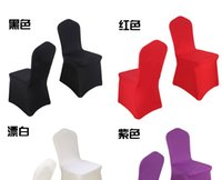 cheap furniture - 2015 cheap Chair cover Multicolor optiona Wedding Supplies Hotel banquet furniture decoration Conference chair sets The bride wedding
