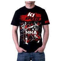 Wholesale MMA loose breathable cotton summer men s sports boxing sweatshirt mma shorts hayabusa top king muay thai shorts bad boy mma