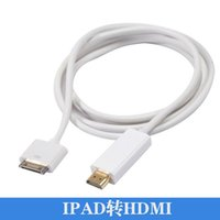 apple av dock - 1 M Dock Pin to HDMI HDTV AV Digital Adapter Cable for Apple iPad iPhone G S iPod touch