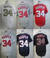 baseball washington - Washington Nationals Bryce Harper Baseball Jersey Cheap Rugby Jerseys Authentic Stitched Size