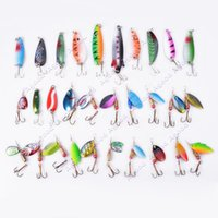 fly fishing tackle - New Fishing Lures Spinner Baits Crankbait Assorted Fish Tackle Hooks SV009974