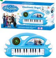 Wholesale 2015 New Frozen electronic keyboard Baby Girls piano Musical instruments toy Kids Educational Toys electric organ Kids Gift LJJD1394