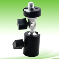 Wholesale Camera Flash Shoe Umbrella Holder Swivel Light Stand Bracket Flash Mount Bracket Tripod