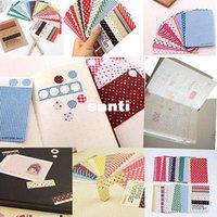 basic arts - 27PCS Washi Scrapbook Basic Masking Tape Craft Stickers Pack Decorative Labelling Art Adhesives