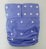 Wholesale durable washable adult cloth diaper Nappy nappies diapers with snap button nappy insert as sample