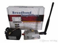 Wholesale 2014 New Fantastic W web Signal Booster Amplifier for g Wireless WiFi b g Router Feida