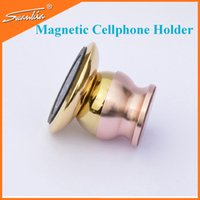Wholesale factory Rotatable Magnetic Car Mount Holder For Mobile phone GPS Tablet PC Smart Bracket