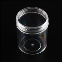 Cheap 2015 Transparent Round Jewelry Plastic Box Seed Beads Storage Organizer Container 4*4*5cm