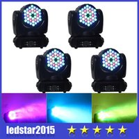 Wholesale RGBW Cree Led W Led Moving Head Wash Led Lights LED Moving Head Beam Light Moving Head Stage Light DJ Party Stage Lamp