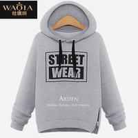 asymmetrical hoodie men - 2015 asymmetrical hoodies sweatshirts plus velvet fleece women tops sports plus size vestidos camisas femininas