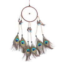 Wholesale DIU Handmade Dream Catcher Feathers Wall Hanging Decoration Ornament Gift