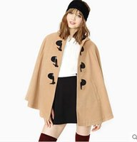 best wool coats for women - Standard Wool Fashion Ladies Cardigan Button Up Collar Best Design Blends Casual Style Unique Women Coats for Sale
