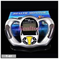 achat en gros de rapport numérique-Ratio Digital LCD Handheld Tester BMI Body Fat Analyzer Moniteur Santé Fat mètre Poids moniteur avec 5 niveaux de graisse