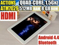 Cheap Hot sell!! 9 inch ATM7029 Quad Core Tablet pc HDMI Bluetooth wifi Flashlight Android 4.4 Dual Camera 512M 8G WIFI Big discount!!