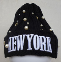 adult beanie crochet pattern - New York Beanie Hat Knit Crochet Pattern Beanies Cool Hip Hop Hats Men Women Fashion Warm Winter Wool Cap Soft Skull Caps