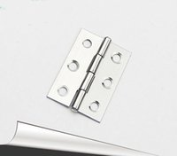 Wholesale 20pcs mm length door hinges Stainless steel drawers Closet small hinge
