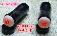 vibrating vagina - VIRTUAL TOUCH Vibrating Sex Cup Sex Toys For Men Best Sex Products Realistic Artificial Vagina Masturbator