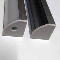 anodized aluminum profile - 40m a m per piece Anodized aluminum profile for led strip light triangle shape