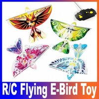rc bird - Remote Control Flapping Wings Like Authentic Bird Helicopter R C Flying Bird Aircraft RC Airplane E Bird Boy Toy