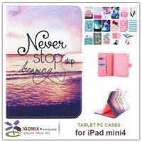 apple ipad options - PU leather case for ipad mini protective wallet pu case for ipad mini4 models options