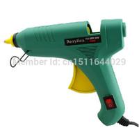 Wholesale 110 V W Big Size Electric Heating Hot Melt Glue Gun with Switch Professional Repair Tool Glue Sticks order lt no track