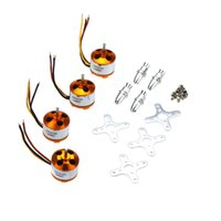 Wholesale 4Pcs A2212 KV Brushless Outrunner Motor for RC Quadcopter Multi Copter X KK Aircraft