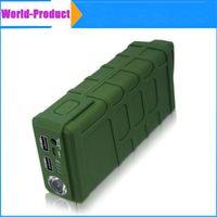 Wholesale New V6 Anti shock Emergency Car Jump Starter Jumper mAh A Peak Mini Power Bank Battery Charger Dual USB Port