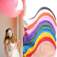 Wholesale Large Round Balloon inch Party Balloons Wedding Festival Balloons Decor