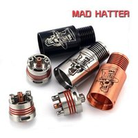 hatter - Mad hatter RDA RBA Clone with Wide Bore Drip Tip Mad hatter Rebuildable Atomizer vs Dark Horse n23 derringer baal rda for mini box mod e cig
