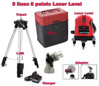 Wholesale Freeshipping lines points laser level rotary cross laser line leveling with outdoor model nivel laser