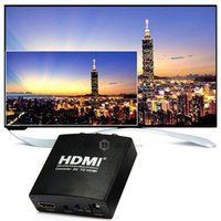 Wholesale HDCAV01 AV to HDMI HD Video Converter RCA to HDMI Adapter Support P for DVD STB TV Projector Display For PS3 V
